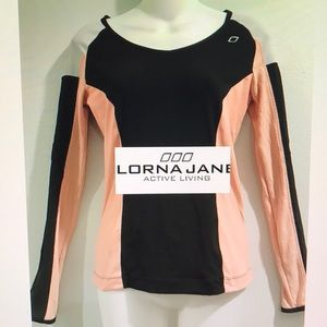 Lorna Jane Active Warm Up Long Sleeve Size S